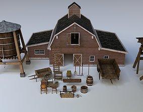 game-ready Farm Assets