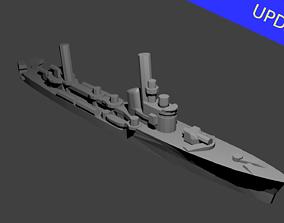 3D printable model Italian Spica Class Torpedo Boat