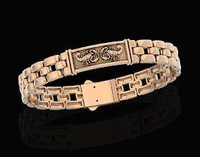 menbracelet 3D printable model bracelet