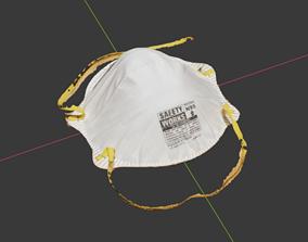 N95 Dust Mask - Photo Scan 3D