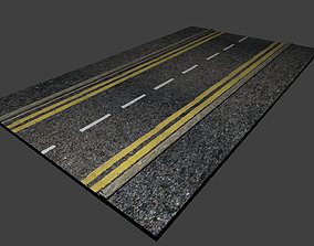 exterior 3D model High detail Road