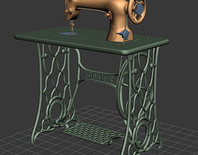 surface 3D Singer Sewing Machine