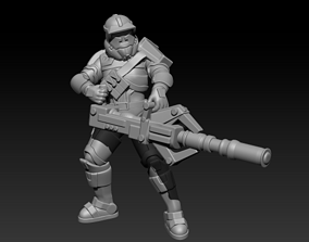 Light Havok Troopers 3D print model