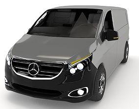 Mercedes-Benz Vito 3D model animated