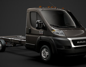 Ram Promaster Chassis Truck Single Cab 4035 WB 3D model