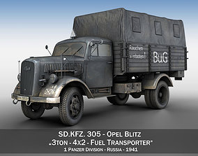 Opel Blitz 3ton - Fuel Transporter 3D