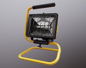 3D model Small Worklight PBR