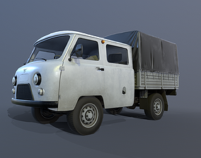 3D model UAZ 39094 Farmer