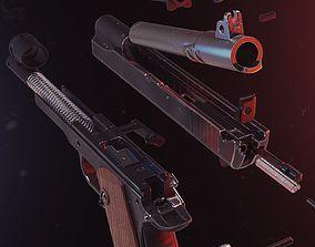 1911 Colt Pistol 3D