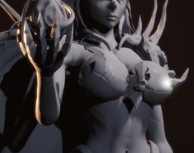 3D print model Sebitti Warrior Damaged