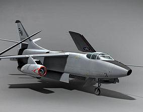 The Douglas A3 Skywarrior USA 1952 3D military