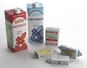 Milk and Butter 3D model cap