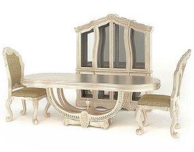 American Wooden Furniture 3D