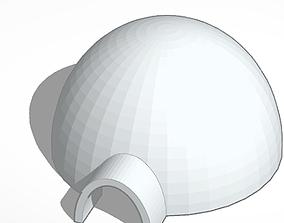 3D model low-poly Igloo
