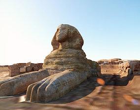 sphinx 3D asset