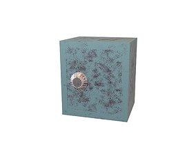 3D model Cartoon Safe Box v1 005