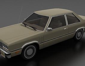 Zephyr 2dr sedan 1978 3D model