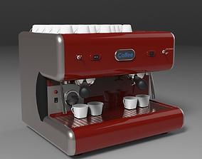 expresso Coffee machine 3D