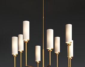 Ziyi large chandelier 3D