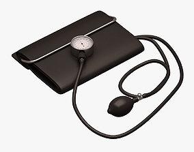 Blood Pressure Monitor 3D model