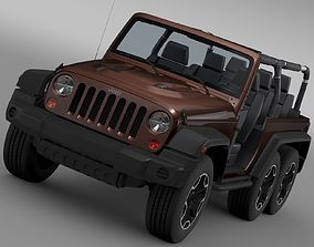 Jeep Wrangler Rubicon 6x6 2016 3D model