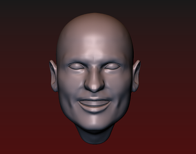 3D print model Man head 18 Male head