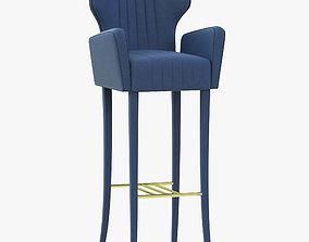 Brabbu Davis Bar Chair 3D