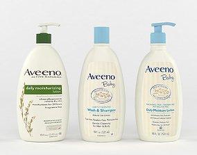 3D Aveeno Baby Gentle Wash and Shampoo