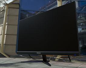 2K Monitor 3D asset