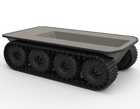 Argo platform 8x8 with tracks 3D