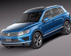 Volkswagen Touareg 2016 3D model