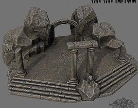 3D model realtime Temple