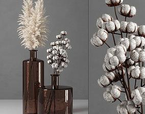 3D model decorative vase 09