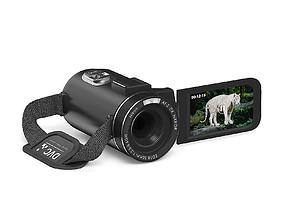 Movie Camera 3D Model