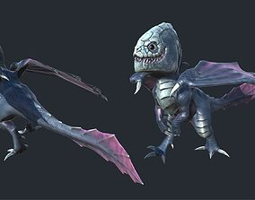 Dragon 3D asset animated realtime