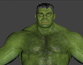 Hulk 3d model from Avengers Infinity War