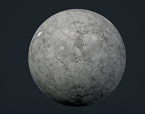 Marble Seamless PBR Texture 03 3D