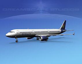Airbus A321 Air Tours 3D model