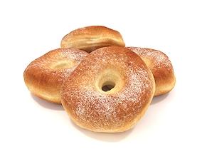 3D Donuts sprinkle
