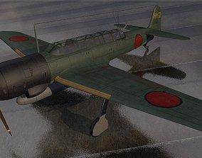 Nakajima C6N1 Saiun - aka Myrt 3D model
