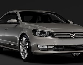 Volkswagen Passat China NMS 2016 3D model
