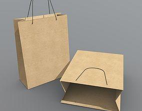 Paper Bag 3D asset