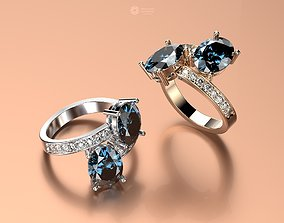 ring 3d models download 3D print model luxury