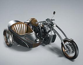 Bike Steampunk 3D model