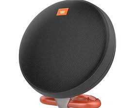 3D model JBL CLIP 2 PORTABLE BLUETOOTH SPEAKER BLACK