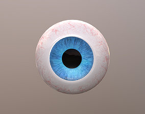 3D model game-ready PBR Eyeball
