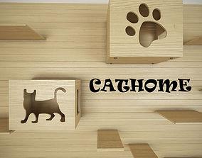 3D model Cat House
