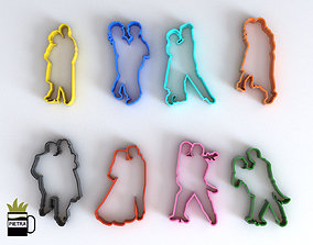 3D print model Molde cortante de galletas fondant de 2