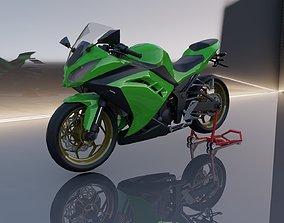 3D model Kawasaki Ninja FI 250
