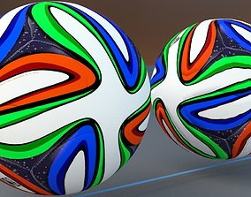 World Cup 2014 Brasuca Ball 3D model